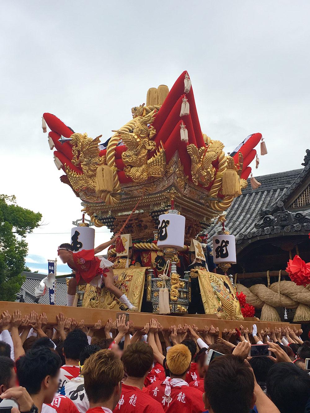播州秋祭り最高!!曽根天満宮の祭りが大好きで毎年行っています。by.よしくんさん