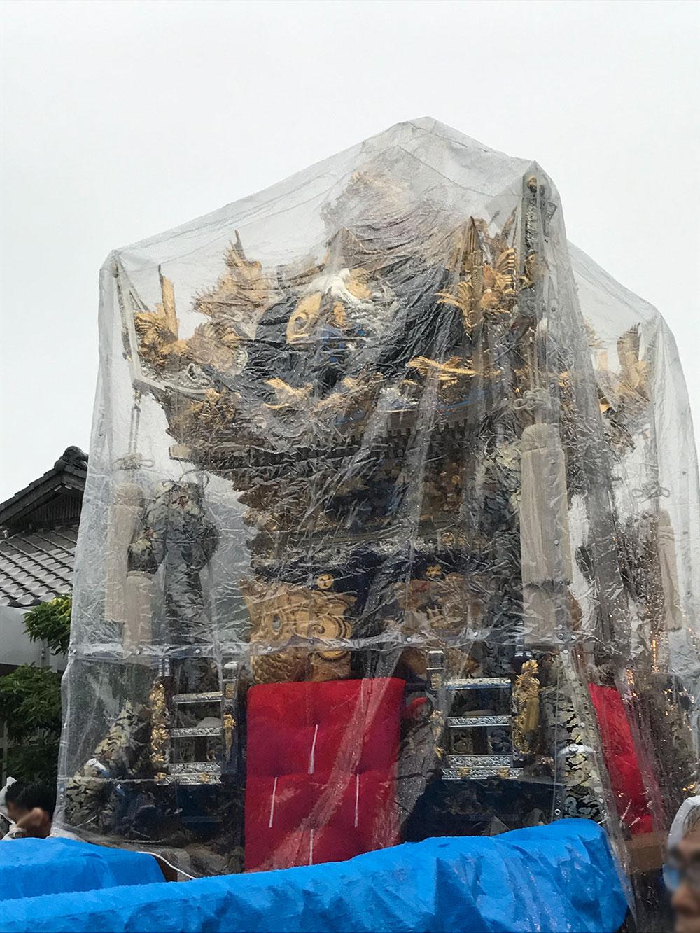 タイも雨には勝てず...by.うすき太郎さん