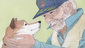 ありがとうジロー 愛犬と全国巡り被災地支援